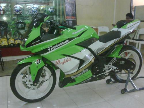 Image Modifikasi Ninja 250r