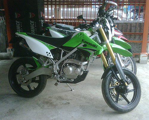 150 Modifikasi Supermoto Modifikasi Kawasaki Klx  Car Interior Design