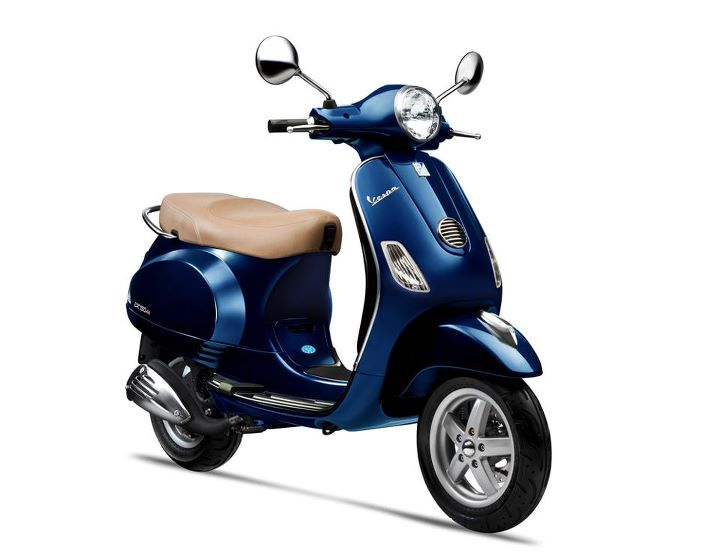 vespa scooter midnight blue