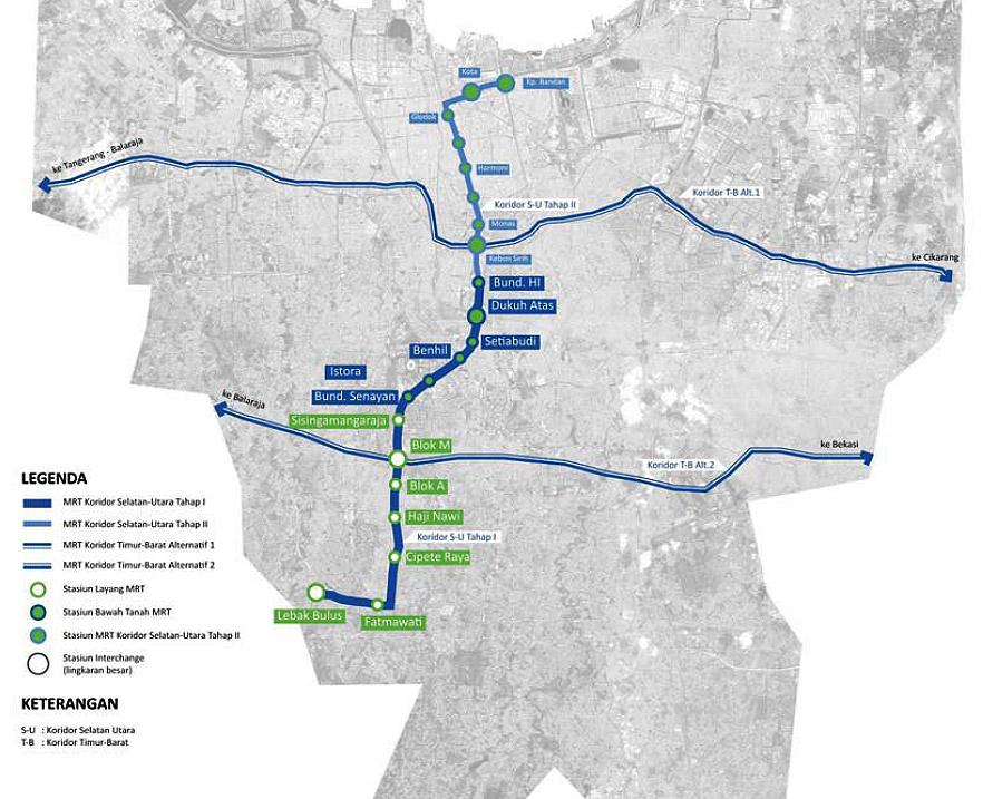 Mass Rapid Transit Mrt Jakarta Littlefootprintsinthecity