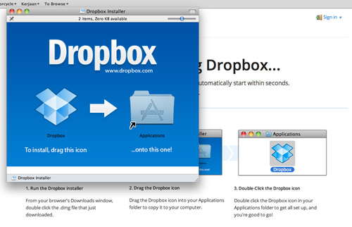 how to get dropbox files on iphone
