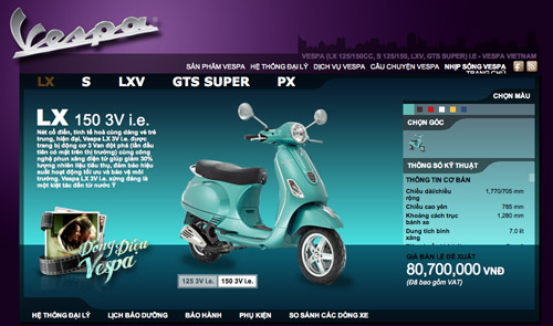 Harga Vespa LX 3V di Vietnam cuman lebih tinggi seratus ribu!