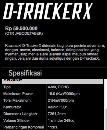 Dtracker-Specs