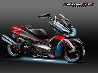 Modifikasi Honda PCX 8