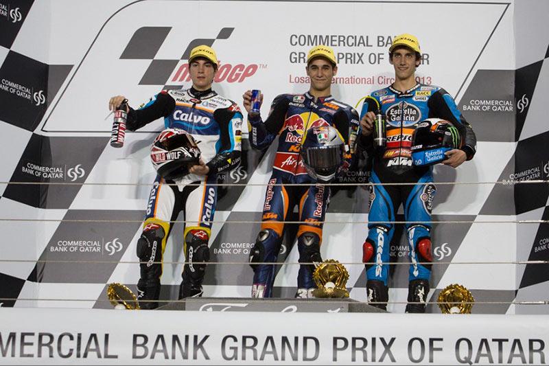 Moto3_Qatar_2013_Winners