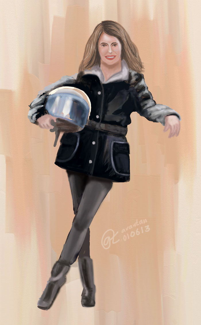 Woman Scooter Girl
