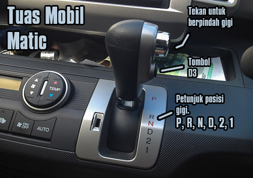 yang parking brakenya tetap di tangan seperti pada mobil manual