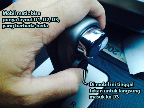 Cara Mengemudi Mobil Matic Kapan Harus Ganti Ke D1 D2 D3