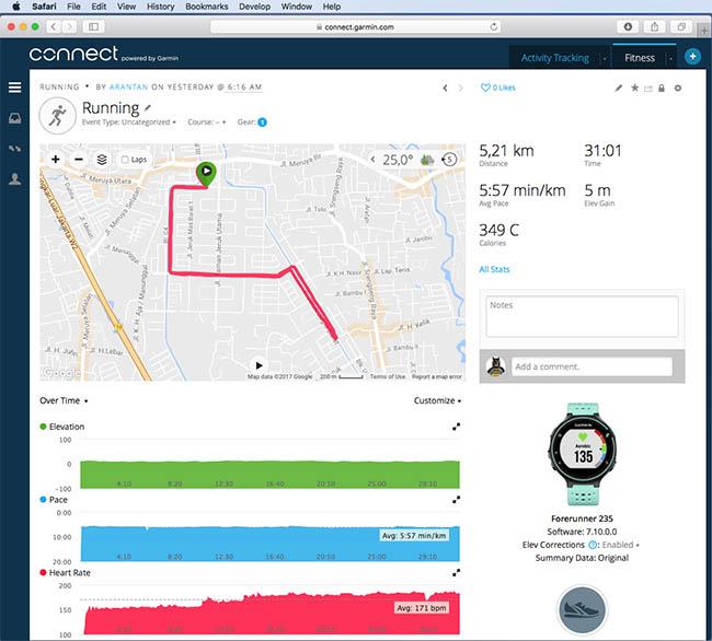 running-map